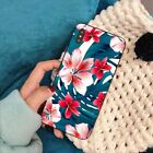 Flower Latest Printed Blue And Red Pattern Plastic Phone Cover for Iphone BR
