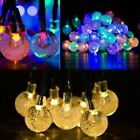 30 Led Solar Globe Bubble String Lights Decorative Lights For Home Wedding Party
