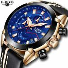Relogio Masculino 2018 New LIGE Sport Chronograph Mens Watches image