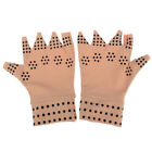 Magnetic anti arthritis health compression gloves fingerless gloves HI