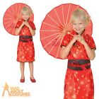 Kids Chinese Geisha Girl Costume China Oriental Girls Child Fancy Dress Outfit