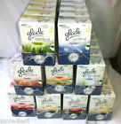 6 X GLADE ESSENTIAL OIL PLUG IN Refill Air Freshener - SELECT THE FRAGRANCE