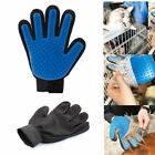 Pet Grooming Glove Hair Removal Brush AS SEEN ON TV Massage Deshedding Dog Cat