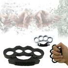 Self-Defense Tool Alloy Silver Four Finger Knuckles Ring Pocket Outdoor Tool EDC