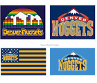 Denver Nuggets Flag 3x5 Ft Polyester Mancave Outdoor NEW! NBA FAST SHIPPING on eBay