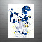 Christian Yelich Milwaukee Brewers Poster FREE US SHIPPING on Ebay