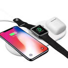 Air Power 3 in 1 Wireless Charger Pad AirPower for iPhone X 8 Increased by Apple Watch