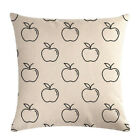 Green Apple Red Apple Series Square Pillow Case Home Sofa Decor Cushion Cover