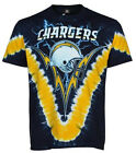 Liquid Blue Los Angeles Chargers V-Dye T-Shirt NFL LicensedBrand ---New w/Tags-- $19.99 USD on eBay