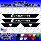 MOPAR Dodge Door Sill Decals 2007-2019 HEMI R/T SRT Charger Durango Dart $19.95 USD on eBay