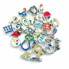 Buy 3, Get 2!  PRO FOOTBALL TEAM Floating Charms for Glass Memory Locket NFL $0.99 USD on eBay