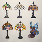 Tiffany Table Lamp Handmade Stained Glass Colourful Home Decor Lamp Light