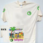 """T&C,Town and Country, """"Da Boy's"""", Cool Surf Ivory T-SHIRT S-5X, T-1051Ivy,L@@K"""