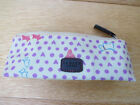 Radley Heart Hibbert Dog Print Pencil Case Glasses Cosmetic Creamy Yel
