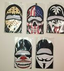 Guy Fawkes Jason Halloween Face Mask Ski American Flag SHIPS FAST FROM USA!