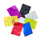 5x7cm Open Top Colorful Vacuum Seal Aluminum Foil Bags Mylar Food Grade Storage