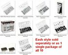 SAE - Metric Nut & Bolt Assortments W/ Cases, 11 Different Style Package Choices