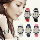 Best SKMEI Women's Fashion Casual Leather Analog Quartz Wrist Watch Waterproof image