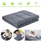 Cooling Weighted Blanket 60''x80'' 15lb 20lb Reduce Stress Promote Deep Sleep