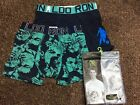 Moschino Mens Boxer Trunks Mens Underwear White Grey Black Size S, M, L RRP £44