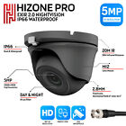 5MP BULLET / DOME CCTV CAMERA 4IN1 TVI CVI AHD FULL HD 20M EXIR NIGHT VISION UK