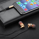 Wired earbuds noise cancelling stereo earphones heavy bass sound sportheadsFBDU