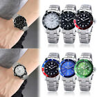 Winner Men Stainless Steel Watch Automatic Self-Wind Mechanical Wristwatch Date image