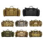 Waterproof Military Tactical Fanny Pack Waist Bag Molle Shoulder Bag Hand Carry