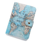 Chic Travel Leather ID Card Holder Passport Card Case Protector Cover Wallet New
