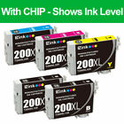 Ink Cartridges For Epson Black/Color All Printers Single/Packs lot 200 220 410
