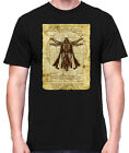 Star Wars Vitruvian Darth Vader Old Art Black Men's T-Shirt New $12.87 USD on eBay