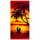 """Cotton Beach Towel 28""""x58"""" Quick Fast Dry Super Absorbent for Pool Swimming Bath"""