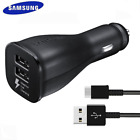 NEW Samsung Galaxy S10 S9 Plus Note 9 Fast Charging Type C USB/Car/Wall Charger