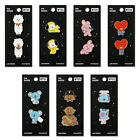 [BT21] monopoly Badges Pins (2ea) All Characters 100% Authentic BTS