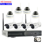 Wifi 1080P Wireless For Home Surveillanc Security IP Camera System w/ Hard drive