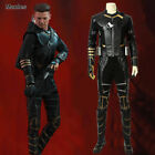 Avengers 4 Endgame Hawkeye Costume Clinton Barton Cosplay Ronin Men Fancy Dress