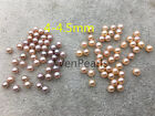 10 beads AAA 4-4.5mm pink/lavender seed pearl,freshwater round loose pearl