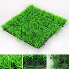 Green Square Artificial Water Aquatic Grass Plant Aquarium Fish Tank Landscape