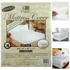 KING/QUEEN/FULL/Twin Size Fabric Mattress Protector Zippered Waterproof Bed Bug  image