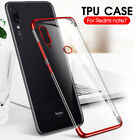 Ultra Slim Shockproof Silicone Clear Case Cover For Xiaomi Redmi Note 7 Pro