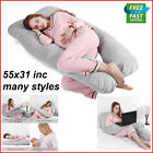 Full Body Pregnancy Pillow for Maternity Pregnant Women U Shape On Side Support image