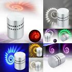 Spiral LED Wall Sconce Hall Porch Walkway bedroom Lights Decor Fixture Lamps LJ