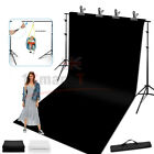 Studio Heavy-Duty Backdrop Screen Stand Background Support Stand Photography KIT <br/> Aluminum Alloy⭐NEWLY 2020⭐UPGRADED 6 TYPE⭐FREE BAG⭐HOT!