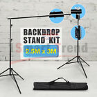Studio Heavy-Duty Backdrop Screen Stand KIT Photo Background Support System Set <br/> Stability Stand√Non Woven/Muslin Screen√ Brand=Volkwell