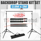 Volkwell-Studio Heavy-Duty Backdrop Screen Stand Background Support Stand KIT-UK