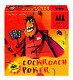 Coiledspring Games Three Magicians Cockroach Poker Card Game, Orange