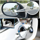 2pcs Blind Spot Removal Mirror Car Wide-angle Convex Mirror Blind Spot Mirror_WK