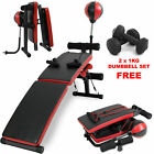 Sit-Up Bench ab Abdominal Exercise Fitness Situp Maschine Brett Faltbar Roller