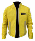 Yellow Jacket For Men Slim Fit Biker Bomber Motorcycle Star Wars Luke Skywalker $74.99 USD on eBay
