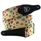 Embroidered Guitar Shoulder Strap Belt Musical Stringed Instruments Accessories